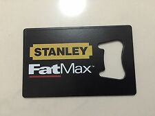 Stanley FatMax BOTTLE OPENER Tools Hammer Drill Impact Combo Fat Max Knife Tape