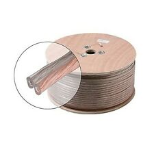 Steren 255-315CL 500' FT 14 AWG GA Speaker Cable Wire 2 Conductor Copper Bulk