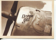 POST CARD OF A WORLD WAR II BOMMER WITH DREAM GAL PAINTED ON HER SIDE