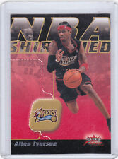 PHILADELPHIA 76ers 2003-04 FLEER FOCUS NBA SHIRTIFIED ALLEN IVERSON #'D 189/750