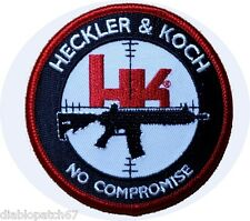 HK firearms Heckler & Koch No Compromise MP5 Tactical Airsoft Patch