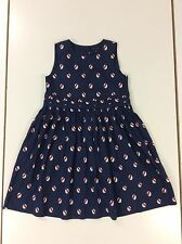 GIRLS TOMMY HILFIGER BEAUTIFUL SUMMER DRESS NAVY AGED 10 YEARS
