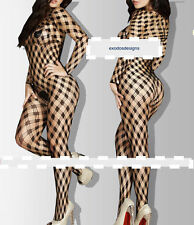 HOT Fishnet Babydoll Sexy Lingerie Sheer Underwear BODYSTOCKING Crotchless 6-12