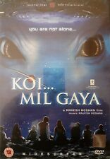 KOI MIL GAYA - RARE ON YRF LABEL BOLLYWOOD DVD - Hrithik Roshan, Preity Zinta.