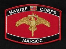 "USMC ""MARSOC""  MOS Military Patch Marine Corps Special Operations Command"
