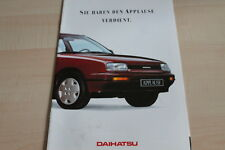 117043) Daihatsu Applause Prospekt 01/1989