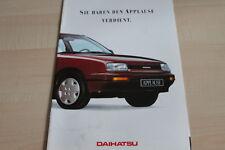 117043) Daihatsu Applause Prospekt 01/1989