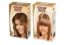Color Mate Hair Color Cream Golden Brown pack of 3