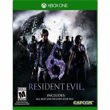 Resident Evil 6 (Microsoft Xbox One, 2016) FREE SHIPPING All DLC / Maps