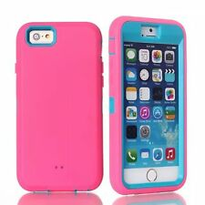 3 in 1 rubber shockproof hard protection case for Iphone 6 4.7""