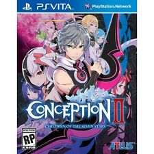 Conception ii 2 children of the seven stars PS Vita game brand new