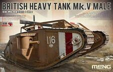 Meng Model TS-020 1/35 British Heavy Tank Mk.V Male