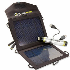 Goal Zero Goal0 Switch 8 Solar Panel Recharging Kit Battery Cell Phone Tablets