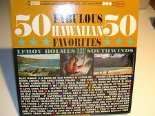 50 Fabulous Hawaiian Favorites Stereo UAS 6353 VG+ / VG