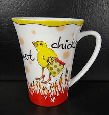 Delish Hot Chicks Mug Excellent Red Yellow