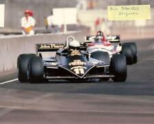 Elio de Angelis Lotus-Ford 23RD  F1 US GRAND PRIX 1981 8 X 10 ORIGINAL PHOTO 3