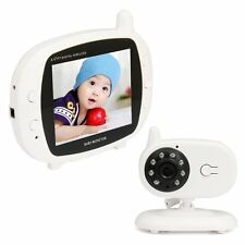 "NEW 3.5"" LCD Digital Wireless Color Baby Monitor Camera Audio Video Night Vision"