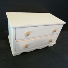 Chest of Drawers ~ HAND PAINTED in DISTRESSED STYLE ~ Dolls House Miniature 1:12