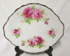 Royal Albert American Beauty Bone China England Under Tray for Cream & Sugar