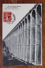 Carte postale ancienne Le Viaduc de CHAUMONT
