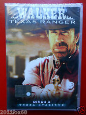 walker texas ranger n.3 terza stagione disco # 3 films film dvds dvd's tv series