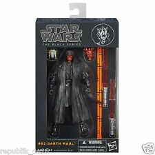 "STAR WARS / DARTH MAUL 6"" / BLACK SERIES / 16CM / PREMIUM"