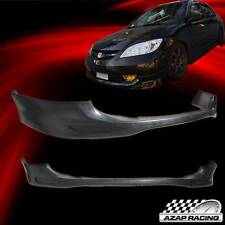 2004 2005 Poly-Urethane Front Bumper Lip Spoiler Bodykit For Honda Civic 4 Door
