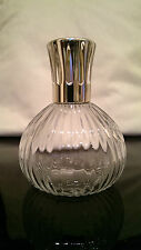 Lampe Berger Flacon Plissee Transparent Glas Crystal Verre France Paris