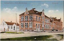 Ludwigshafen am Rhein Mundenheim Volksschule Ansichtskarte 1919
