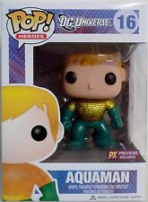 "AQUAMAN DC Universe New 52 Pop Heroes 4"" Vinyl Figure 16 PX Exclusive Funko 2011"