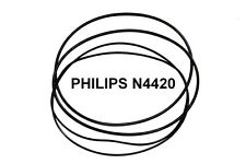 Set Cinture PHILIPS N4420 Reel PER MULINELLO EXTRA FORTE NUOVO FACTORY FRESH N 4420