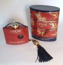 NEW Original Vintage YSL OPIUM PARFUM PERFUME full 1oz/30ml