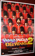 YAMLA PAGLA DEEWANA  2 (2013)  POSTER # 6  BOLLYWOOD DHARMENDRA SUNNY BOBBY DEOL