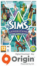 Los Sims 3 generaciones Expansion Pack Pc Y Mac Origen clave