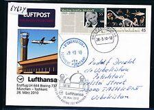 64674) LH FF München - Taschkent Usbekistan 28.3.2010, So-Kte St schwarz