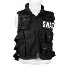 Military SWAT Tactical Vest Paintball Army Combat Molle Assault Airsoft Hunting