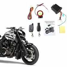 Motorcycle Bike Alarm System Anti-theft Security Remote Start Engine Immobiliser