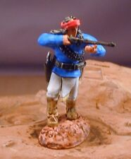 54mm Paragon Apache Warrior Firing Rifle  Indian Beautifully Painted  Cavalry