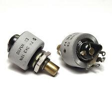 2x-conductor, potenciómetro 3.3 kOhm, 4w, p4 Draloric, punto de trabajo amplificador tubos