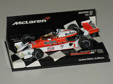 McLaren M26 Marlboro - British GP 1977 - J. Hunt - 1/43 minichamps