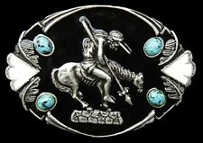 Boucle de Ceinture Horse Rider Belt Buckle Western Art Belts Buckles