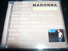 Madonna Nothing Fails / Nobody Knows Me Australian Remixes 8 Track CD Single