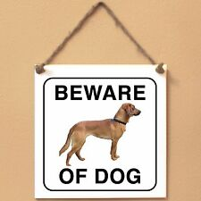 Tyrolean Hound Segugio tirole 0 Beware of dog ceramic tile sign piastrella cane