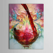 Wine Cup Large canvas NO frame. Modern hand-painted Art Oil Painting Wall Decor