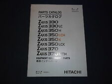 HITACHI ZAXIS 330 LC 350H LCH K LCK 370 MTH EXCAVATOR PARTS BOOK MANUAL
