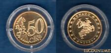 Monaco 2004 - 50 Centimes Sceau des Grimaldi 14999 ex du BE RARE - Monaco