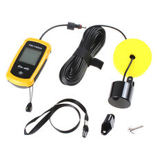 Portable Fishing Fish 100M Finder Sonar Sensor Depth Sounder Alarm Fishing  Tool