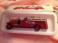 High Speed 1924 Buffalo Fire Engine Diecast Car Model MIB