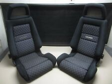 JDM Genuine Toyota 90-99 MR2 SW20 Recaro Adjustable Reclinable Front Seats ~MINT