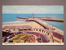 R&L Postcard: Whitby Khyber Pass, ETW Dennis, Many 1960's Classic Cars